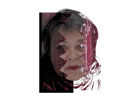 29a 05.01.13 Selbstporträt, das zu enge Korsett von Ich
