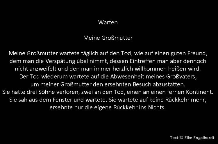 015 Warten Text von Elke Engelhardt