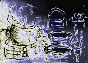 Wenn die dampfende Suppe auf den Esser wartet ...