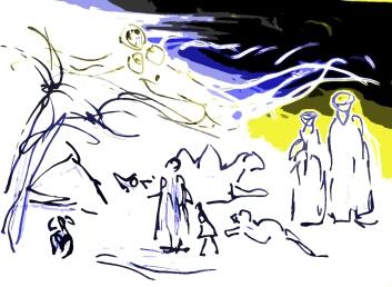 ... sie lebte als Wüstenwind unter den Beduinen.